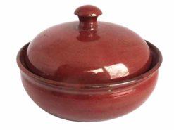 keramik-butterdose-braun
