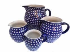 Keramik Saft- Milchkrüge