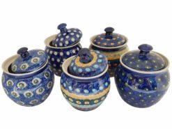 Keramik Zuckerdosen